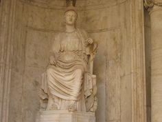 Statue of Sitting Roma (Cesi Roma)
