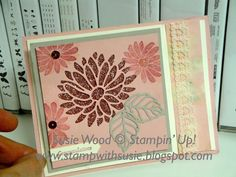 Here is one of the cards that everyone joining me at my February monthly classes got to make this month!  It is a fun easel card!     Chec...