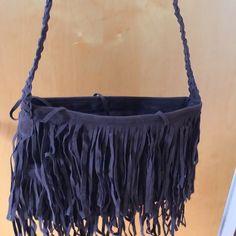 Purse Stylish, fringe, swede purse Bags Shoulder Bags