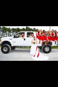 Country girls and big trucks :)