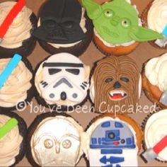 Boys cupcake ideas. Sara J in Wallingford Ct makes the best.