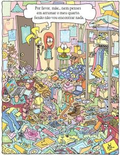 Costumas arrumar o teu quarto?