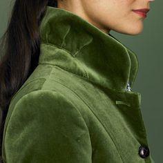 green velvet    .