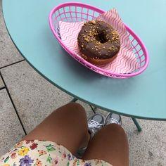 Vegan Talormade doughnut Doughnut, Vegan, Desserts, Instagram, Food, Tailgate Desserts, Dessert, Postres, Deserts