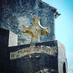 #Latergram / #Stèle cruciforme 1775 #VillelonguedAude #aude #jaimelaude #audetourisme #tourismeoccitanie #occitanie #croix #cross