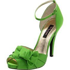 Green shoes #GraffitiLensFavorite Maybe a darker shade?? But, they're Nina and I adore Nina!