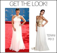 GET THE LOOK: Kim Kardashian wore this Grecian-inspired dress and MackTak also has a gorgeous dress inspired by the Greek! Step out in a similar look with one of our Top Sellers, Terani P613.    http://macktakmart.com/terani-p613.html