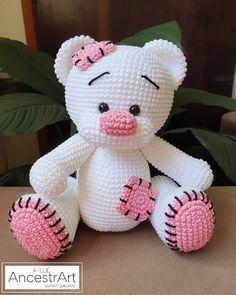 Teddy Bear Patterns Free, Crochet Dolls Free Patterns, Amigurumi Patterns, Free Crochet, Crochet Teddy Bears, Crochet Teddy Bear Pattern Free, Crochet Baby Toys, Crochet Animals, Crochet Crafts