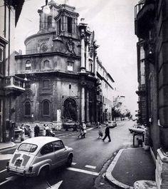 Via delle Quattro Fontane, Rome,1964.