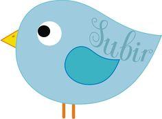 pajarito azul  para la tecla de subir de un blog si quieres ver más ve a mi blog: humordesese.blogspot.com.es