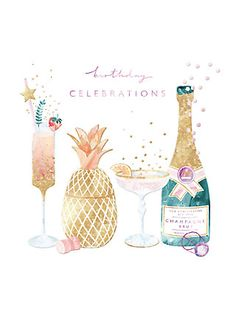 Choose from a great range of Greetings Cards. Including Birthday Cards, Wedding Cards, and Thank You Cards. Happy Birthday Drinks, Happy Birthday Cousin, Champagne Birthday, Happy Birthday Wishes Cards, Birthday Cards, Champagne Images, Champagne Quotes, Draw On Photos, Happy B Day