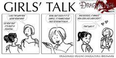 DAO: Girls' talk by SoniaCarreras on DeviantArt