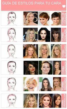 El peinado ideal según la forma de tu cara - MDZ Online