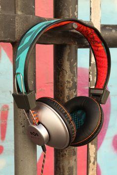 Positive Vibration headphones against iron gate #HouseofMarley #LiveMarley #BobMarley  http://www.thehouseofmarley.com/on-ear-headphones/positive-vibration-on-ear-headphones.html