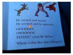 Thiyara reading Mr McGee and the Biting Flee - YouTube