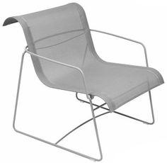 Ellipse armchair Steel Grey | Armchair Fermob