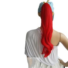 Multi-Color-Women-Bang-Long-Wavy-Curly-Cosplay-Anime-Wig-Party-Hair-Ponytail-Hot