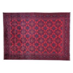 awesome Hand-knotted Afghan Khamyab Vegetable Dyes Oriental Rug (8'3 x 11'4) Check more at http://yorugs.com/product/hand-knotted-afghan-khamyab-vegetable-dyes-oriental-rug-83-x-114/