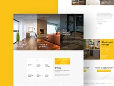 Flooring Studio designed by inevio. Connect with them on Dribbble; the global community for designers and creative professionals. Page Template, Website Template, Templates, Site Web Design, Ui Ux Design, Real Estate Landing Pages, Landing Page Design, Web Layout, Studio
