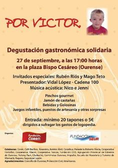 Degustación gastronómica solidaria @ Alameda - Ourense solidariedade gastronomía