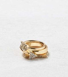 AEO Star & Moon Ring Set - Buy One Get One 50% Off