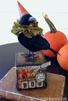 Hi all! I cant believe its almost Halloween! I was so inspired by Tim Holtzs October tag that...