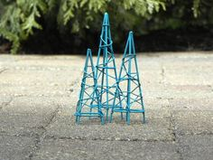 Fairy Garden accessories Obelisk topiary form by TheLittleHedgerow