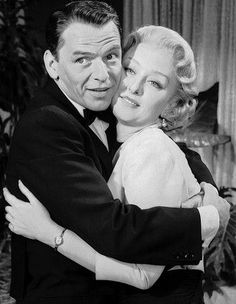 "Frank Sinatra, Celeste Holm in ""The Tender Trap"" Director: Charles Walters. Golden Age Of Hollywood, Classic Hollywood, Old Hollywood, Celeste Holm, Mr Martin, Joey Bishop, Sammy Davis Jr, Old Movies"