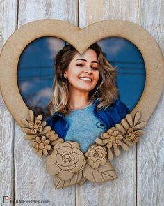 Best ever application that provides free heart shaped picture frame for your beloved one. Here are the custom photo frames love heart, pick the best one and share. Picture Frame Display, Picture Frames, Girls Dp For Whatsapp, Custom Photo Frames, Love Poetry Images, Shape Pictures, Heart Shaped Frame, Good Heart, Anniversary Photos