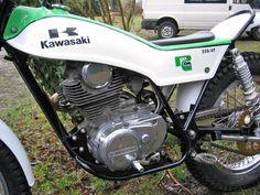 Awesome Vintage 1974 Suzuki RL 250 Exacta Trials Bike ...