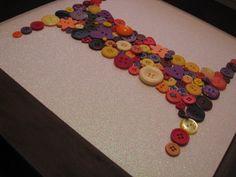 Button monogram: I