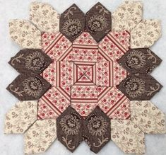 Lucy Boston Patchwork Of The Crosses- Kit 28