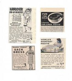 day four products circa 1954 – 1956