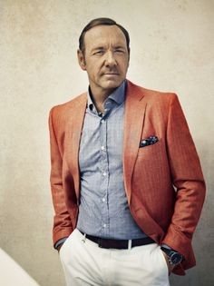 Kevin Spacey — Kevin Spacey by Miller Mobley