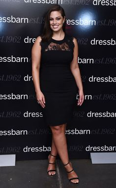 Ashley Graham from The Big Picture: Today's Hot Pics  LBD lady! The model looks fantastic during an event in NYC.