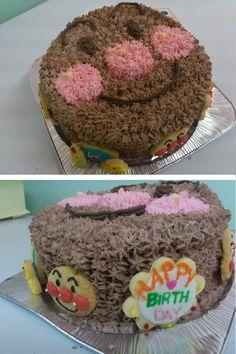 Black Anpanman Cake