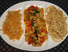 Domowy chińczyk z kurczakiem Wok, Salsa, Tacos, Curry, Mexican, Ethnic Recipes, Curries, Salsa Music, Mexicans