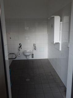 Barrierefreie Toilette im Kurpark Scharbeutz