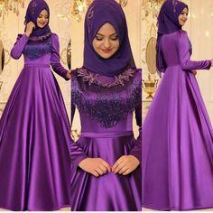 En Şık Pınar Şems Tesettür Abiye Elbise Modelleri | Tesettür Elbiseleri Abaya Fashion, Fashion Dresses, Hijab Dress, The Dress, Designer Wear, Beautiful Dresses, Princess, Formal Dresses, Womens Fashion