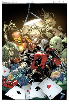 Guardians of the Galaxy Vs. Deadpool