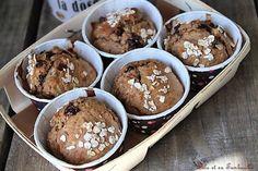 Muffins de petit déjeuner {sans beurre ni sucre ajouté} Lolo et sa Tambouille Cas, Healthy Muffins, Pesto, Biscuits, Breakfast Recipes, Pancakes, Lolo, Gluten, Nutrition
