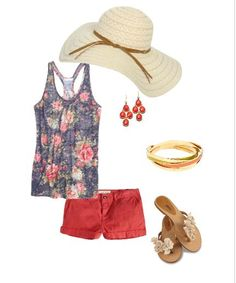 walking down the beach outfit.