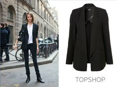 Check out TOPSHOP's blazer!
