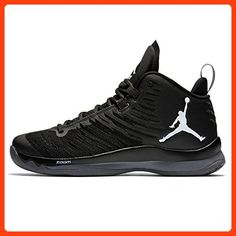 7ca3def8d80 Nike Jordan Men s Jordan Super.Fly 5 Anthracite White Black Basketball Shoe  10