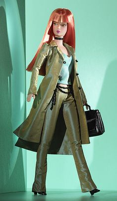 Modern Circle Barbie Doll and outfit owned by Lecia