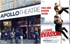 Affiche de la pièce La grande évasion à l'Apollon théâtre