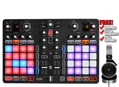 A unique, all-in-one controller at the crossroads of DJing and performance With 2 decks, screens displaying the sizes of loops, effects racks, equalizers and more, Hercules P32 DJ is perfectly designed for mixing.