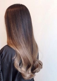 Asian ombre balayage