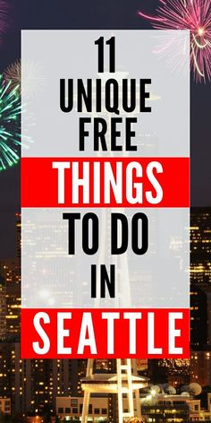 The great city of Seattle is full of free things to do. The ultimate guide to getting in all the Seattle sights without breaking the budget. Check out these all too often missed gems of Seattle. Free Travel, Budget Travel, Travel Usa, Travel Ideas, Oregon Travel, Travel Inspiration, Travel Tips, Seattle Vacation, Seattle Travel