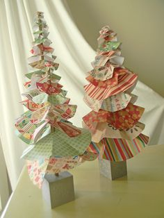 Whimsical Paper Trees